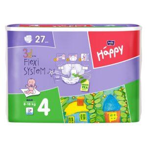 Scutece Happy Maxi 27 buc