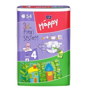 Scutece Happy Maxi 54 buc
