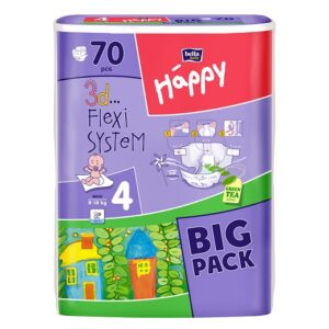 Scutece Happy Big Pack Maxi 70 buc