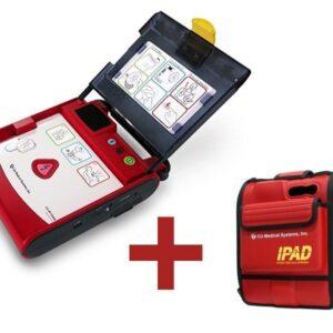 Defibrilator Semi-automat extern profesional cu electrozi si baterii incluse