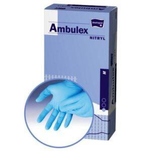 Manusi pentru examinare AMBULEX din Nitril nepudrate