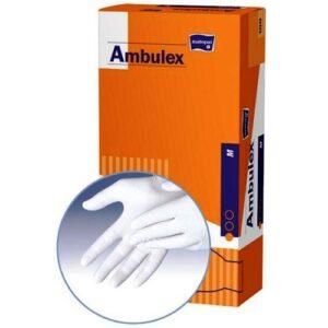 Manusi pentru examinare AMBULEX din LATEX pudrate