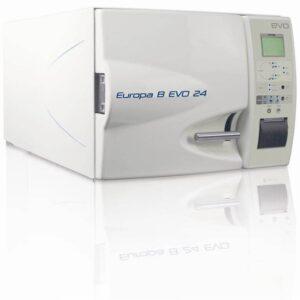 Autoclav abur cu vacuum fractionat mod EUROPA B EVO 24 cu osmoza