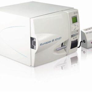 Autoclav abur cu vacuum fractionat model EUROPA B EVO