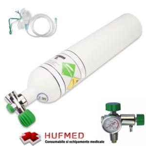Butelie oxigen - Set complet oxigenoterapie 5 litri