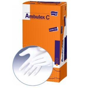 Manusi pentru examinare AMBULEX din LATEX nepudrate